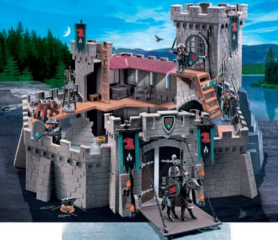 Jou l 39 univers des jeux figurines miniatures for Plan chateau fort playmobil